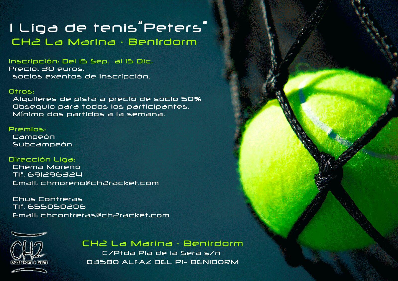 "I Liga de tenis""Peters"""
